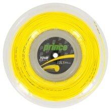 Prince Tennissaite Tour XC (Haltbarkeit+Kontrolle) gelb 200m Rolle