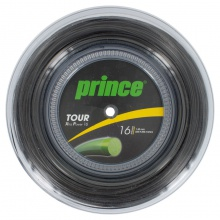 Prince Tour XP schwarz 200 Meter Rolle
