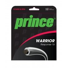 Prince Warrior Response grau Tennissaite 12m Set