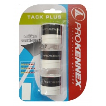 Pro Kennex Tack Plus Overgrip 3er weiss