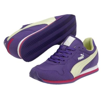 Puma ST Runner violett Laufschuhe Kinder