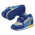 Puma Cabana Racer SL V blau Laufschuhe Kinder (Größe 34)