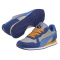 Puma Cabana Racer blau Laufschuhe Kinder
