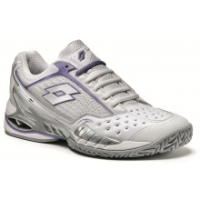 Lotto Raptor Ultra 3 Clay weiss/violett Tennisschuhe Damen