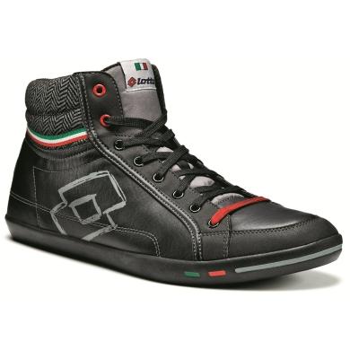 Lotto Wayne Mid II Sneaker schwarz Herren