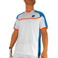 Lotto Tennis-Tshirt Matrix weiss/blau Herren (Größe M)