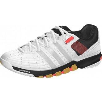 Adidas Quickforce 7 weiss Indoorschuhe Herren (Größe 46,5)