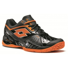 Lotto Raptor Ultra 4 Clay schwarz/orange Tennisschuhe Herren