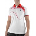 Lotto Polo LED weiss/flame Herren