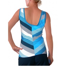 Esprit Tank Stripes 2011 blau Damen