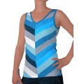 Esprit Tank Stripes blau Damen