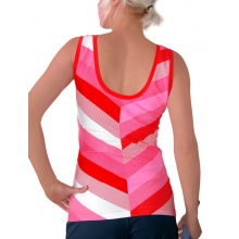 Esprit Tank Stripes rot Damen
