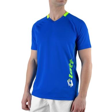Lotto Tshirt Will V-Neck PL atlantic Herren