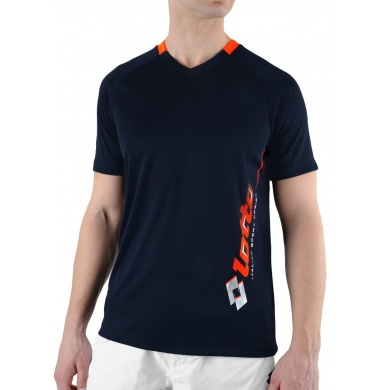 Lotto Tshirt Will V-Neck PL deepnavy Herren