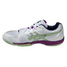 Asics Gel Blade 5 weiss/purple Indoorschuhe Damen