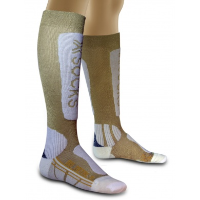 X-Socks Skisocke Metal gold Damen