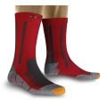 X-Socks Trekkingsocke Silver rot Herren (Grße 35-38)