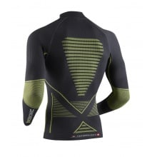 X-Bionic Energy Accumulator Evo Turtle Neck Shirt grau/gelb Herren