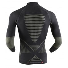 X-Bionic Energy Accumulator Evo Turtle Neck Shirt grau/grau Herren