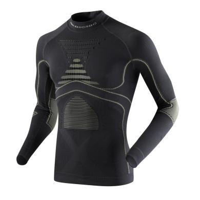 X-Bionic Energy Accumulator Evo Turtle Neck Shirt grau Herren