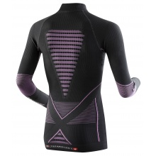 X-Bionic Energy Accumulator Evo Turtle Neck Shirt charcoal/fuchsia Damen