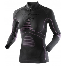 X-Bionic Energy Accumulator Evo Zip-Shirt charcoal/fuchsia Damen
