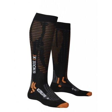X-Socks Laufsocke Accumulator Run schwarz Herren