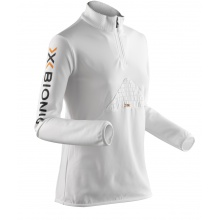 X-Bionic Ski Beaver Longsleeve Zip-Up weiss Damen