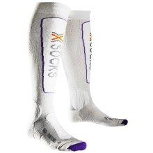 X-Socks Skisocke Metal weiss Damen