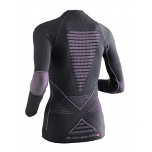X-Bionic Energy Accumulator Evo Shirt Long Sleeves charcoal/fuchsia Damen