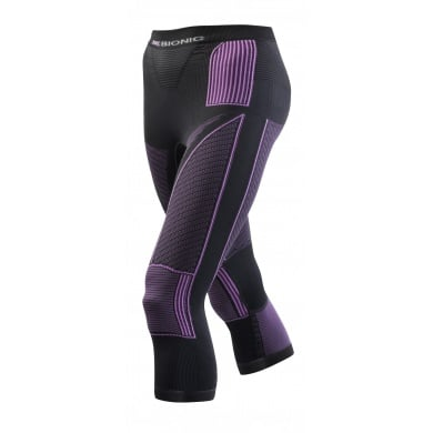 X-Bionic Energy Accumulator Evo Pant medium charcoal/fuchsia Damen