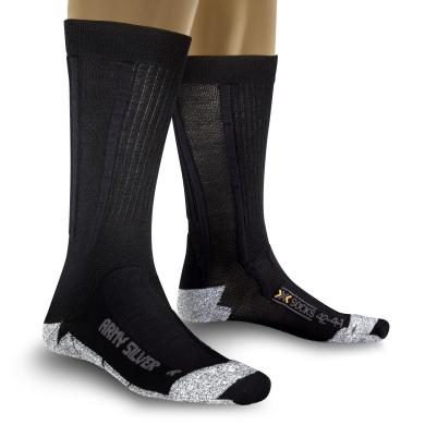 X-Socks Army Silver Socken schwarz Herren