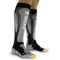 X-Socks Skisocke Carving Silver schwarz/grau Herren