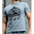 RSL T-Shirt Blue Blood grau Herren