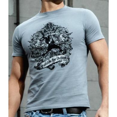 RSL Tshirt Blue Blood grau Herren