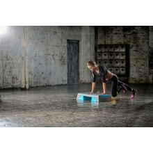 Reebok Fitness Step Trainingstreppe grau/türkis