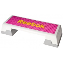 Reebok Fitness Trainingstreppe Color Line weiss/pink