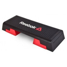 Reebok Fitness Step Trainingstreppe Professional 90x35cm schwarz/rot