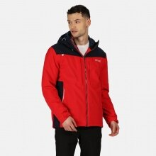 Regatta Winterjacke Highton (wasserdicht, isolierend, wattiert) rot Herren