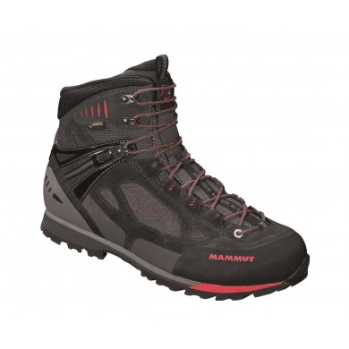 Mammut Ridge High GTX graphite/inferno Outdoorschuhe Herren