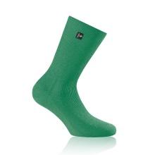 Rohner Tagessocke SupeR (gerippt, rutschfest, Baumwolle) grün Herren - 1 Paar