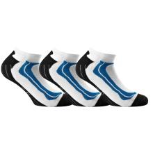 Rohner Basic Sneaker Sport weiss/blau 3er