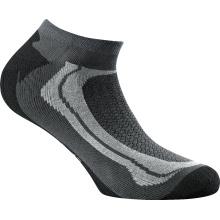 Rohner Basic Sneaker Sport grau/schwarz 3er