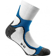 Rohner Next Nordic Walkingsocken weiss/blau 2er