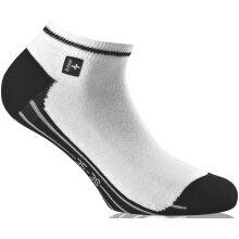Rohner Next Sneaker weiss/schwarz 2er