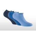Rohner Basic Sneaker New hellblau/navy/marine - 3 Paar