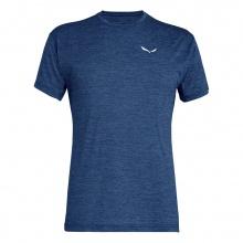 Salewa Tshirt Puez Melange Dry dunkelblau Herren
