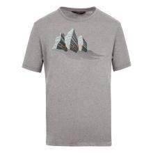 Salewa Tshirt Graphic Dry grau Herren