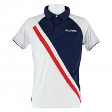 Salming Polo Performance navy/weiss Herren
