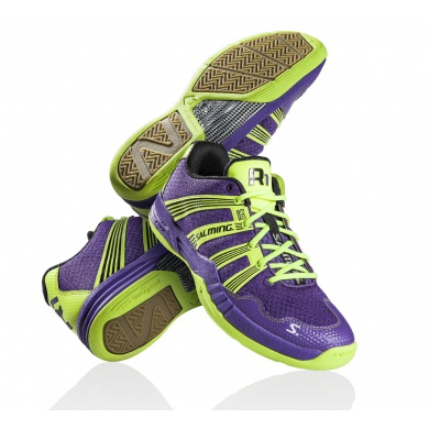 Salming Race R1 2.0 2014 purple Indoorschuhe Herren